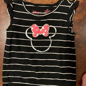 Disney Black Minnie Mouse shirt